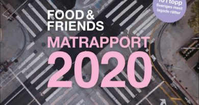 Food & Friends Matrapport 2020